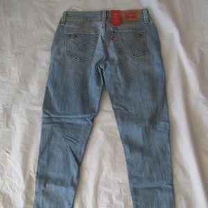 Levi's 535 Jeans 384180004 Super Skinny Color Blue